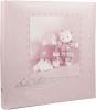 Babyalbum Teddy rosa