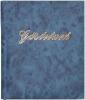 Gästebuch blau